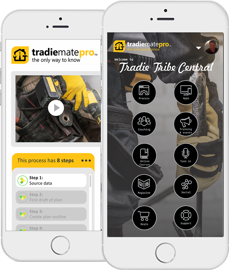 tradiematepro features