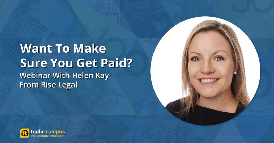 How to Make Sure You Get Paid For Your Jobs